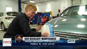 Consumer Reports: Make dangerously dim headlights brighter [Video]