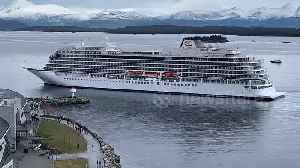 Moment cruise ship Viking Sky is battered by waves before being towed into Molde port [Video]
