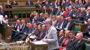 May: Not enough support yet to hold a third Brexit vote [Video]
