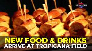 New food and drinks arrive at Tropicana Field | Taste and See Tampa Bay [Video]