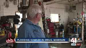 Floodwaters slowly recede in Craig, MO; residents assess damage [Video]