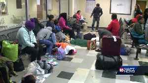 Greyhound passengers stranded at Union Station [Video]