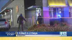 Five People Killed In Stockton [Video]