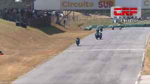 Fight breaks out during Costa Rica motorcycle race [Video]