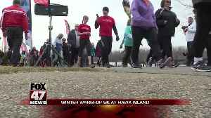 Hundreds attend Winter Warm-Up 5K [Video]