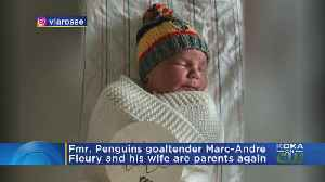 Former Penguins Goaltender Marc-Andre Fleury & Wife Are Parents Again [Video]