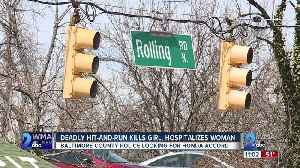 Catonsville hit-and-run kills a 12-year-old and critically injures a pregnant woman [Video]