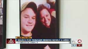 Family, friends search for missing Punta Gorda teen [Video]