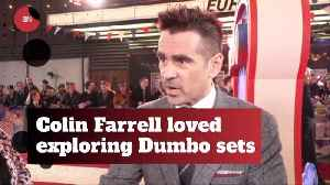Colin Farrell Could Not Believe The Elaborate Dumbo Sets [Video]