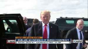 News video: Mueller report: No evidence of Trump-Russia collusion