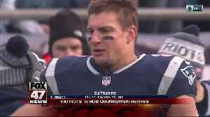 News video: Patriots TE Rob Gronkowski announces retirement