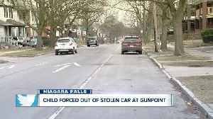 9-year-old girl forced from stolen vehicle at gunpoint in Niagara Falls [Video]