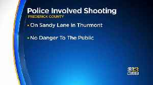 Officer Involved Shooting In Frederick County [Video]