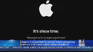 Apple's Long-Awaited Video Service Expected Monday [Video]