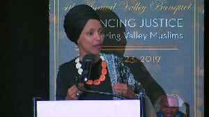 Ilhan Omar Criticizes Trump At CAIR Banquet [Video]