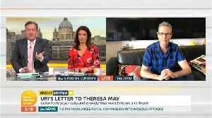 News video: Uri Geller Wants To Stop Brexit Using His Mind Powers, But He Needs Our Help