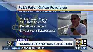 Fundraiser for fallen Phoenix Police Officer Rutherford [Video]