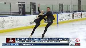 Former olympic skaters train high level ice dancers at Hertz Arena, gear up for performance Sunday [Video]