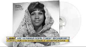 Aretha Franklin gospel concert documentary to be shown Monday night [Video]