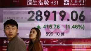 News video: Asian Stocks Fall Due To Fears Of A Recession