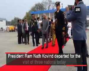 President Kovind departs for Croatia, Bolivia, Chile [Video]