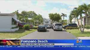 News video: Canadian Couple Found Dead At Pompano Beach Mobile Home Part