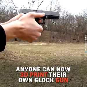 Gun Rights Activists Release Plans for Anyone to 3D Print their Own Glock [Video]