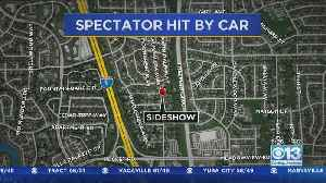 One Person Injured In South Sacramento Sideshow [Video]