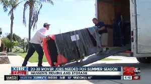 Kern Back In Business: Mover jobs needed for busy summer season [Video]