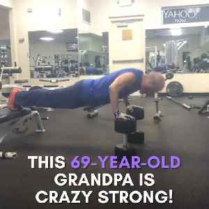 This fit grandpa fighting cancer is unstoppable [Video]