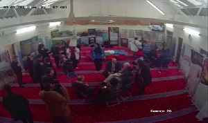Moment Man Egged Jeremy Corbyn During Visit To Finsbury Park Mosque [Video]