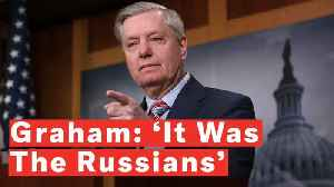 Watch: Sen. Graham On Mueller Report Says 'It Was The Russians' And Not 'Some 300-Pound Guy' Hacking The DNC [Video]
