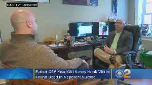 News video: Father Of 6-Year-Old Sandy Hook Shooting Victim Found Dead In Apparent Suicide