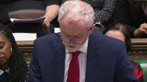 Corbyn weary of 'disastrous' no-deal Brexit [Video]