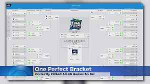 There's Still At Least 1 Perfect Bracket Out There [Video]