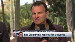 New England Patriots tight end Rob Gronkowski's agent Drew Rosenhaus on retirement: 'It wouldn't shock me' if TE returned in 201 [Video]
