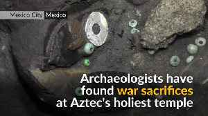 News video: Aztec relics found in Mexico may lead to elusive royal tomb
