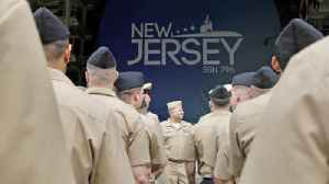 Keel Laying Ceremony for Submarine New Jersey [Video]