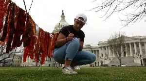 Parkland survivors on Capitol Hill year after march [Video]