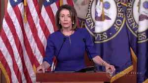 Pelosi Mocks Trump's Mueller Report Comment With 'Broken Clock' Tweet [Video]