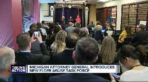 Michigan Attorney General introduces new elder abuse task force [Video]