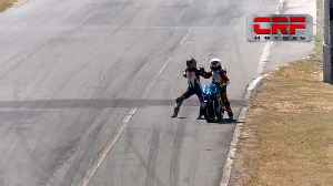 Bikers have fight mid-race and pick up two-year suspension [Video]