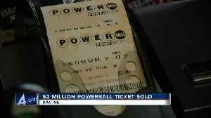 A $2 million lottery ticket sold at a Racine gas station has yet to be claimed [Video]