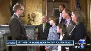 News video: Father of Sandy Hook shooting victim dead by apparent suicide, highlighting life-long trauma