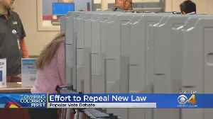 Effort To Repeal Popular Vote Law Already In Works [Video]