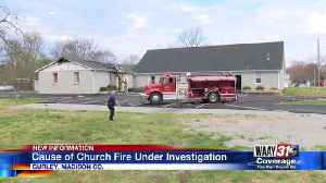 Cause of Church Fire Under Investigation [Video]