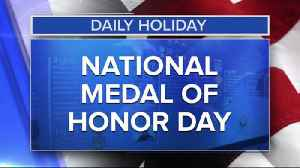 Daily Holiday - National Medal Day [Video]