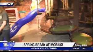 Fun things for Spring at Mobius Science Center [Video]