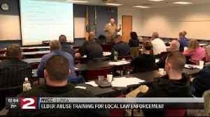 Oneida County law enforcement officers trained on how to handle elder abuse [Video]