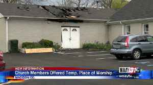 Church Fire in Gurley [Video]